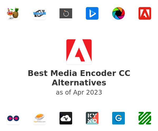 Best Media Encoder CC Alternatives