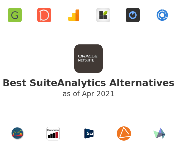 Best SuiteAnalytics Alternatives