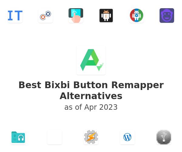 Best Bixbi Button Remapper Alternatives