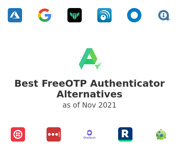 Best FreeOTP Authenticator Alternatives