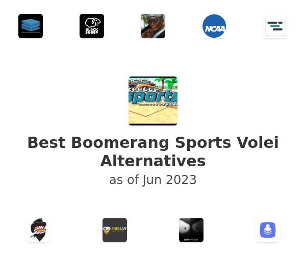 Best Boomerang Sports Volei Alternatives