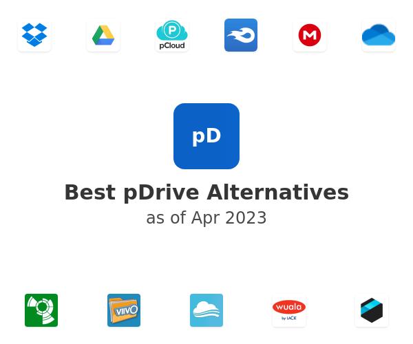 Best pDrive Alternatives