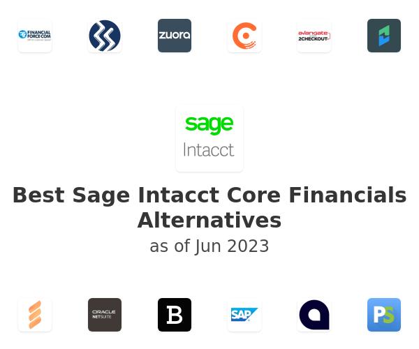 Best Sage Intacct Core Financials Alternatives