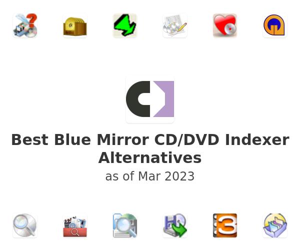 Best Blue Mirror CD/DVD Indexer Alternatives