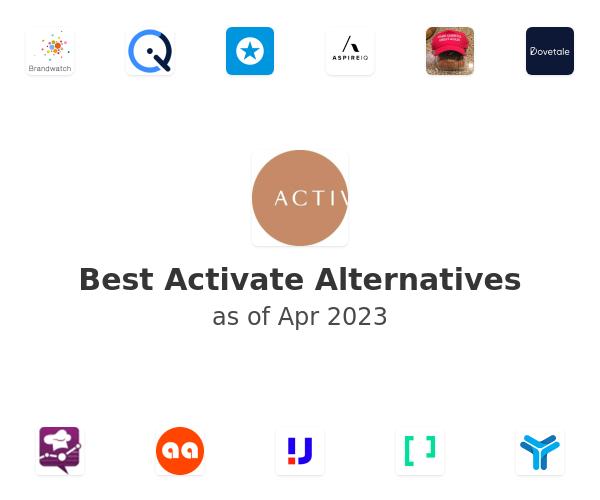Best Activate Alternatives