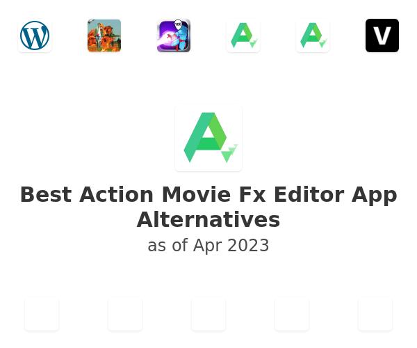 Best Action Movie Fx Editor App Alternatives