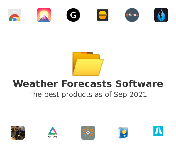 Weather Forecasts Software