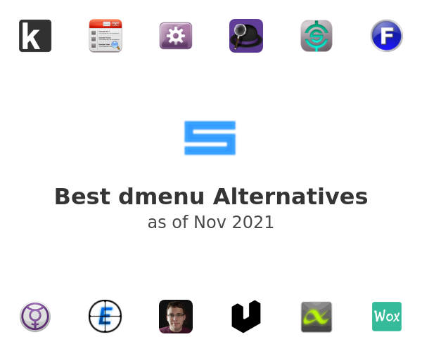 Best dmenu Alternatives