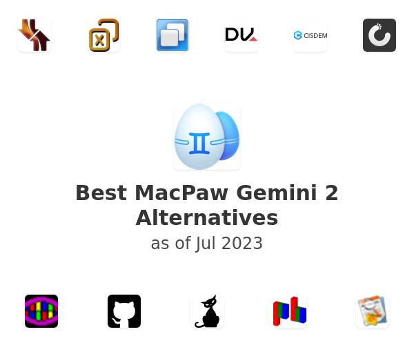 Best MacPaw Gemini 2 Alternatives