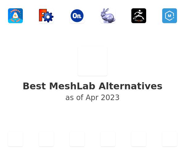 Best MeshLab Alternatives