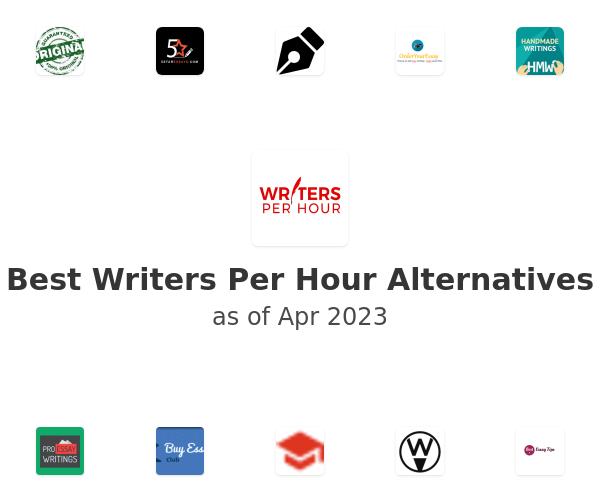 Best Writers Per Hour Alternatives