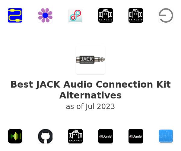 Best JACK Audio Connection Kit Alternatives