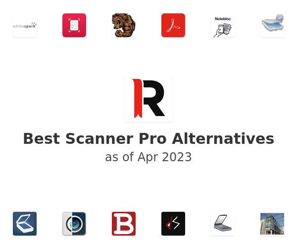 Best Scanner Pro Alternatives