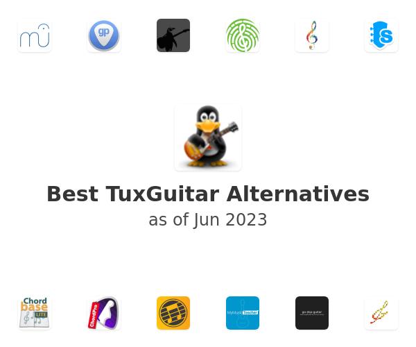 Best TuxGuitar Alternatives