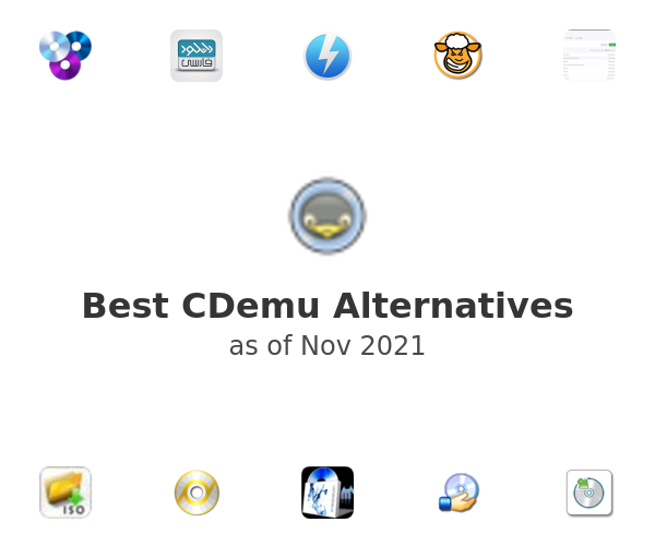 Best CDemu Alternatives