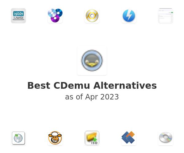 Best CDemu Alternatives