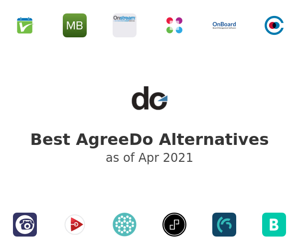 Best AgreeDo Alternatives