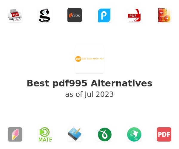 Best pdf995 Alternatives