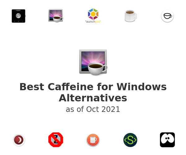 Best Caffeine for Windows Alternatives