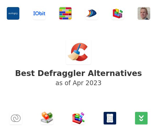 Best Defraggler Alternatives