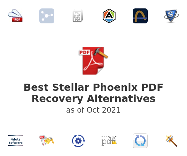 Best Stellar Phoenix PDF Recovery Alternatives