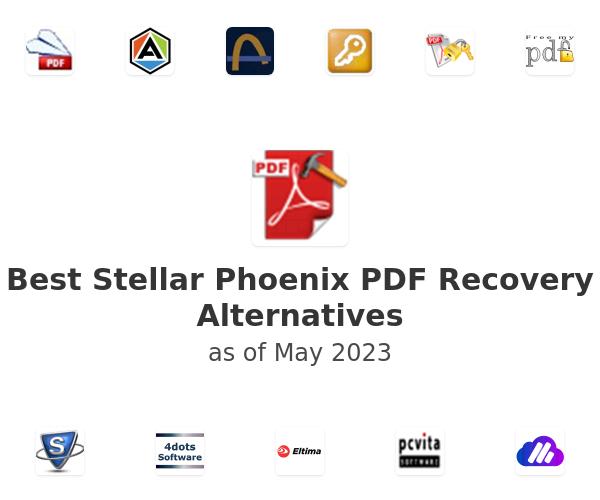 Best Stellar Phoenix PDF Recovery Alternatives