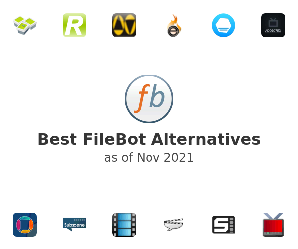 Best FileBot Alternatives