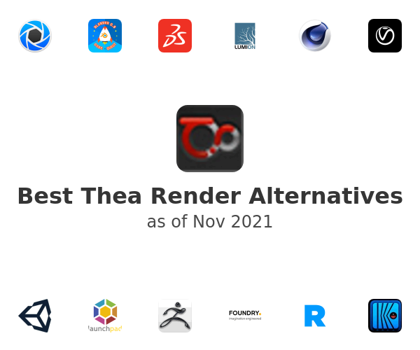 Best Thea Render Alternatives