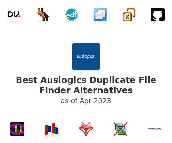 Best Auslogics Duplicate File Finder Alternatives