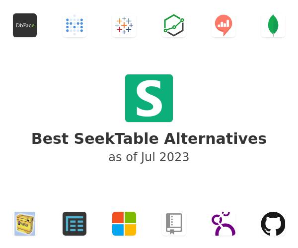 Best SeekTable Alternatives