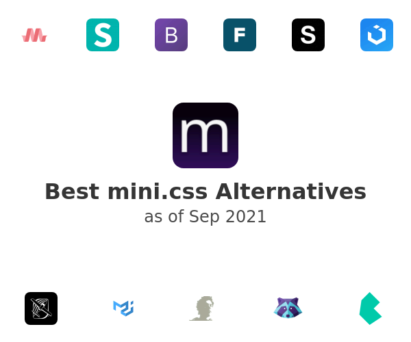 Best mini.css Alternatives