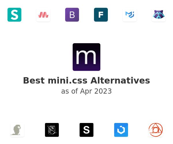 Best mini.css Alternatives