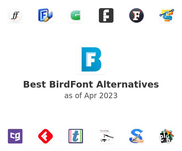 Best BirdFont Alternatives