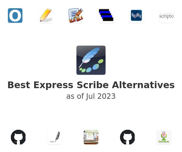 Best Express Scribe Alternatives