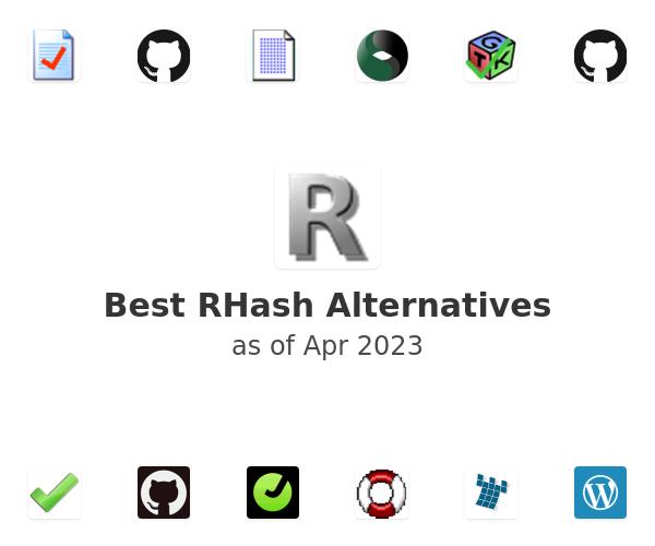 Best RHash Alternatives