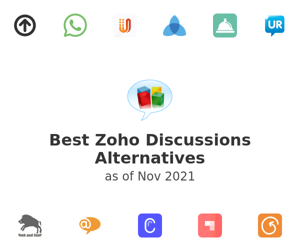Best Zoho Discussions Alternatives