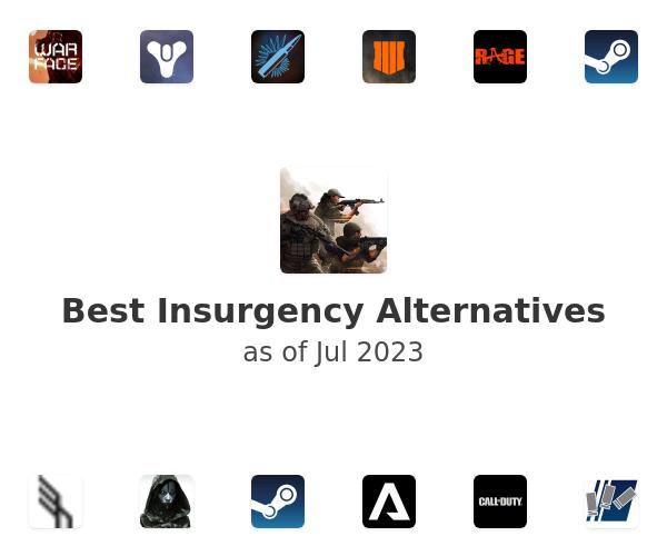 Best Insurgency Alternatives