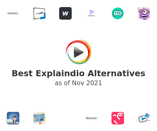 Best Explaindio Alternatives