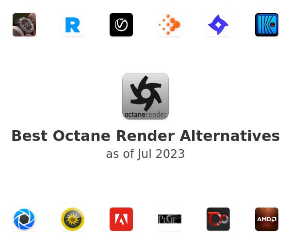 Best Octane Render Alternatives