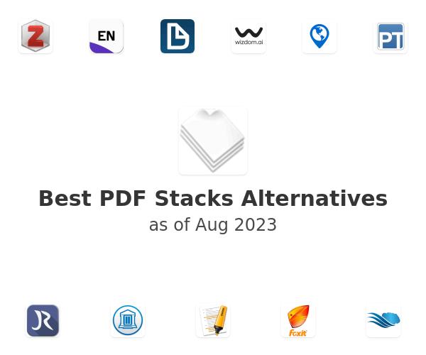 Best PDF Stacks Alternatives