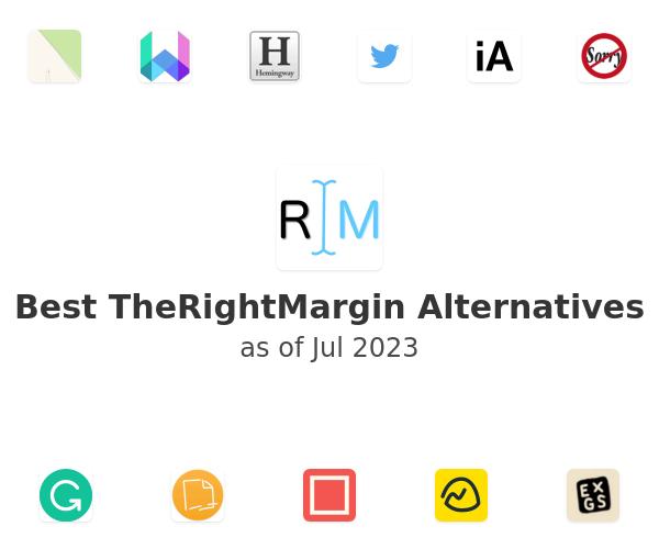 Best TheRightMargin Alternatives
