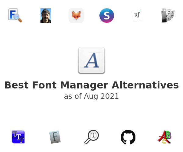 Best Font Manager Alternatives
