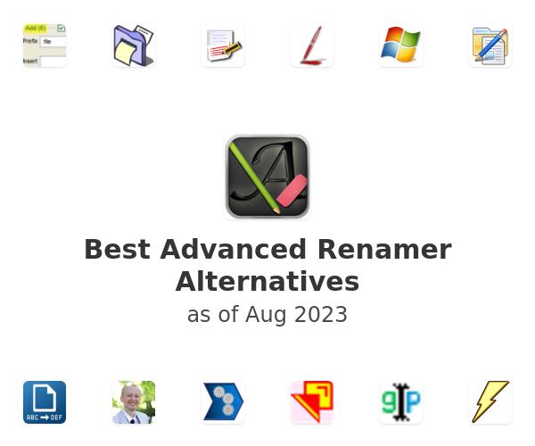 Best Advanced Renamer Alternatives