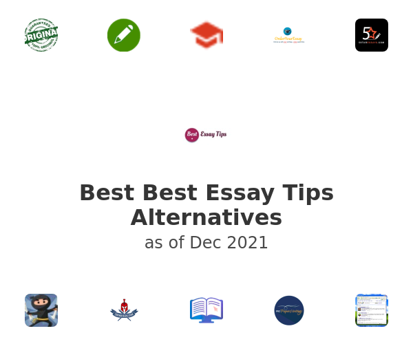 Best Best Essay Tips Alternatives