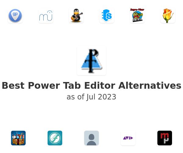 Best Power Tab Editor Alternatives