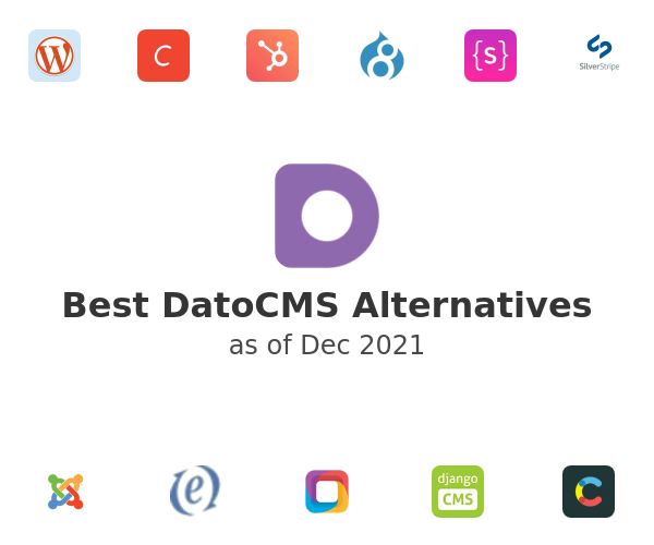 Best DatoCMS Alternatives