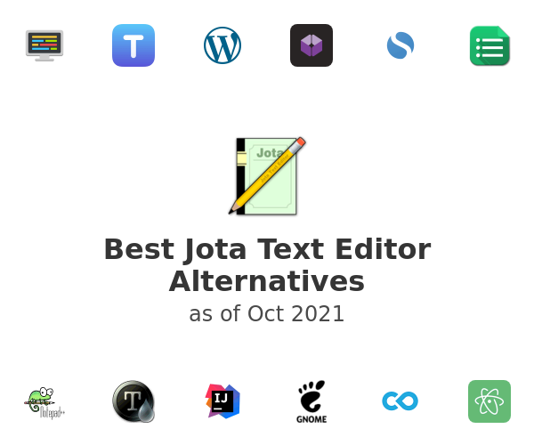 Best Jota Text Editor Alternatives