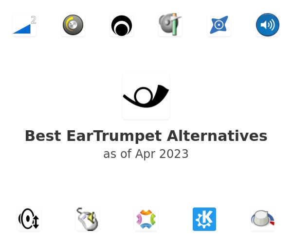 Best EarTrumpet Alternatives