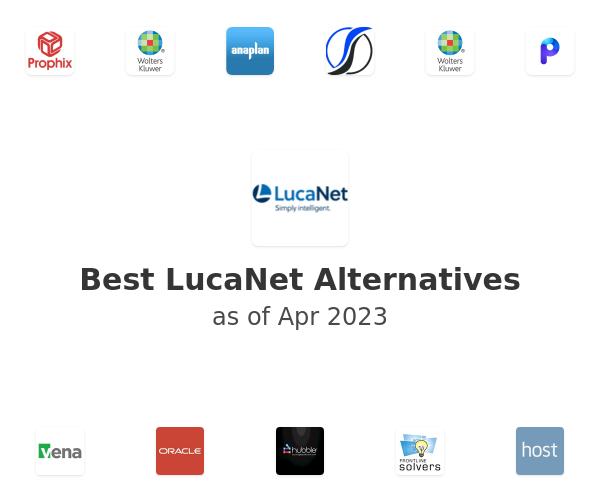 Best LucaNet Alternatives
