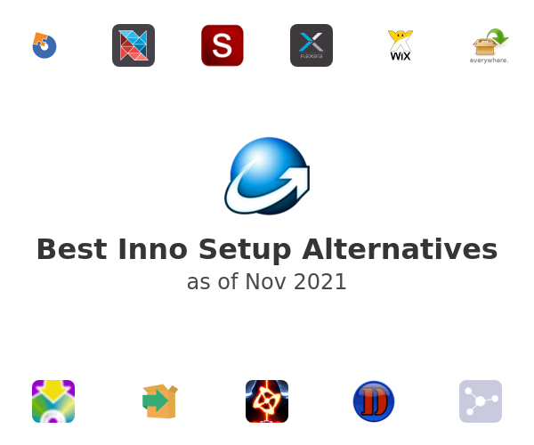Best Inno Setup Alternatives